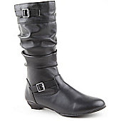 Skittles Girls Savina Black Boots