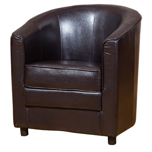 Buy Sofa Collection Girona Tub Chair Brown From Our