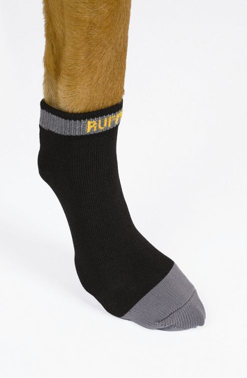 Ruff Wear Bark'n Boots? Liners? Dog Boot in Granite Grey - XX-Small - X-Small (5.1cm - 5.7cm W)