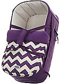 OBaby Zeal Carrycot (ZigZag Purple)