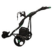 Stowamatic Gxt Electric Golf Trolley Black W/ Carry Bag, Rain Cover, Cup Holder