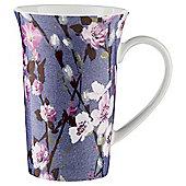 Tesco Tall Blossom Pink Mug Single