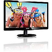 "Philips V-line 200V4QSBR 49.6 cm (19.5"") LED Monitor - 16:9 - 8 ms"