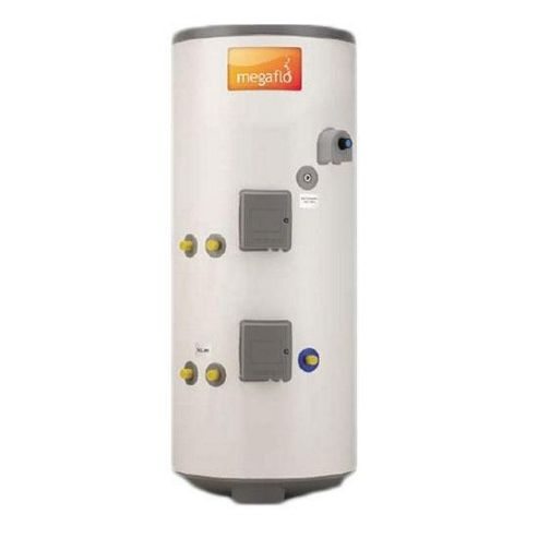 Heatrae Sadia Megalife CLV300 Unvented Indirect Stainless Steel Solar Hot Water Cylinder 300 Litres