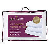 Kings & Queens Silk Indulgence Mattress Topper Single