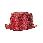Glitter Red Toppers plastic