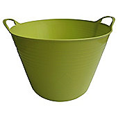 Tesco 42L Flexi Tub Lime Green P382C