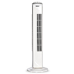 Igenix DF0030 30 Inch Tower Fan with 2H Timer - White