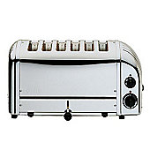 Dualit 6 Slice Toaster in Stainless Steel
