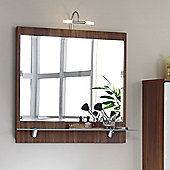 Posseik Salona Mirror - Walnut
