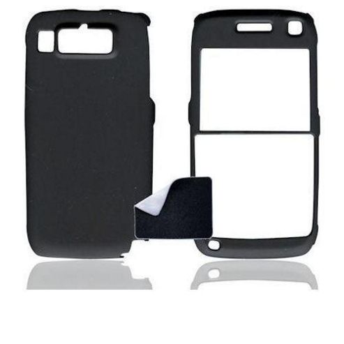 U-bop Accessories 1383 Nokia E72 Smartphone ShadowShell Rubberised Full-Body Case and StampWipe - Charcoal Black