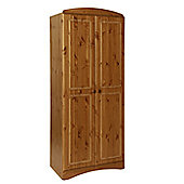 Altruna Scandinavian 2 Door Wardrobe - Pine