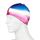 Speedo Multi Colour Senior Silicone Swimming Cap - Pink