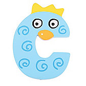 Tatiri Crazy Bird Letter C (Blue)