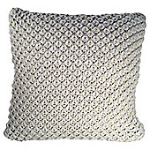 Chunky Knit Cushion Cream