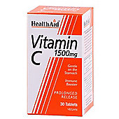 Vitamin C 1500mg - Prolonged Release