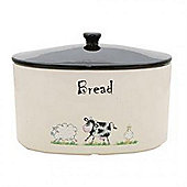 Home Farm Decorated Bread Crock