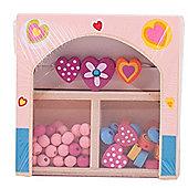 Bigjigs Toys Mini Jewellery Kit (Pink)