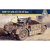 ABM 42 with 47/32 AT Gun - 1:72 Scale - 7053 - Italeri