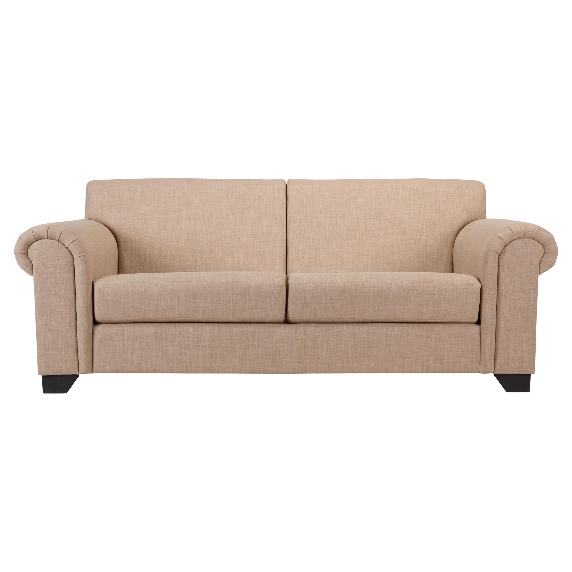 Chester fabric medium sofa natural at Tesco Direct