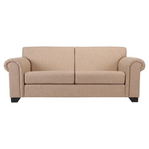 Chester fabric medium sofa natural