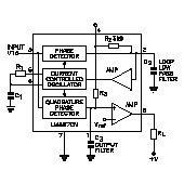 LM567CN Tone Decoder/Phase Locked Loop
