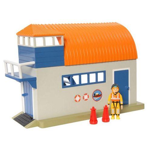 Fireman Sam Adventure Playset with Figure - Boathouse