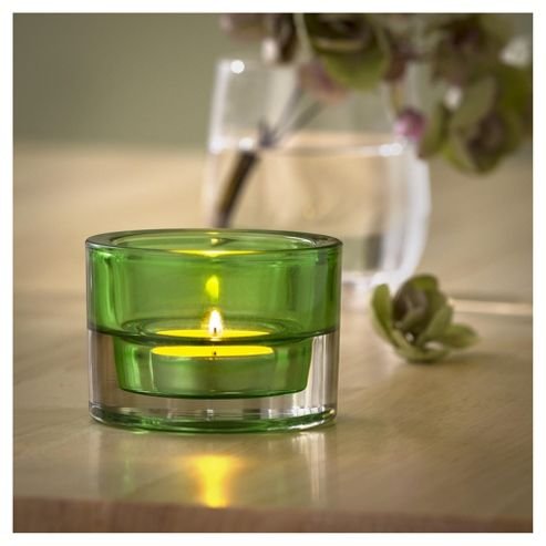Maxi Tea Light Holder Green