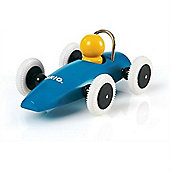 Brio Push Along Race Car - Blue