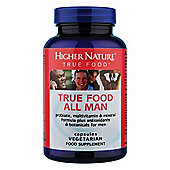 Higher Nature True Food All Man 90 Veg Capsules