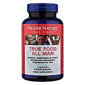 Higher Nature True Food All Man 90 Veg Capsules