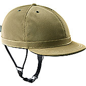 YAKKAY Cambridge Gold Helmet Cover: Small (53-55cm).
