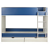 Jasper Bunk White/Blue