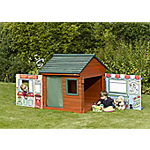 Shop & Post Office 2-in-1 Playhouse