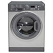 Hotpoint Extra WMXTF742G Washing Machine, 7Kg Wash Load, 1400 RPM Spin, A++ Energy Rating, Graphite