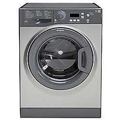 Hotpoint Extra Washing Machine, WMXTF742G, 7KG Load, Graphite