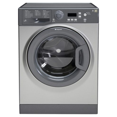 Hotpoint Extra Washing Machine, WMXTF 742G UK, 7KG load, with 1400 rpm - Graphite