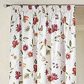 Charlotte Ready Made Curtains - Red