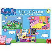 Peppa Pig Trio Puzzle