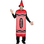 Red Crayola Crayon Costume