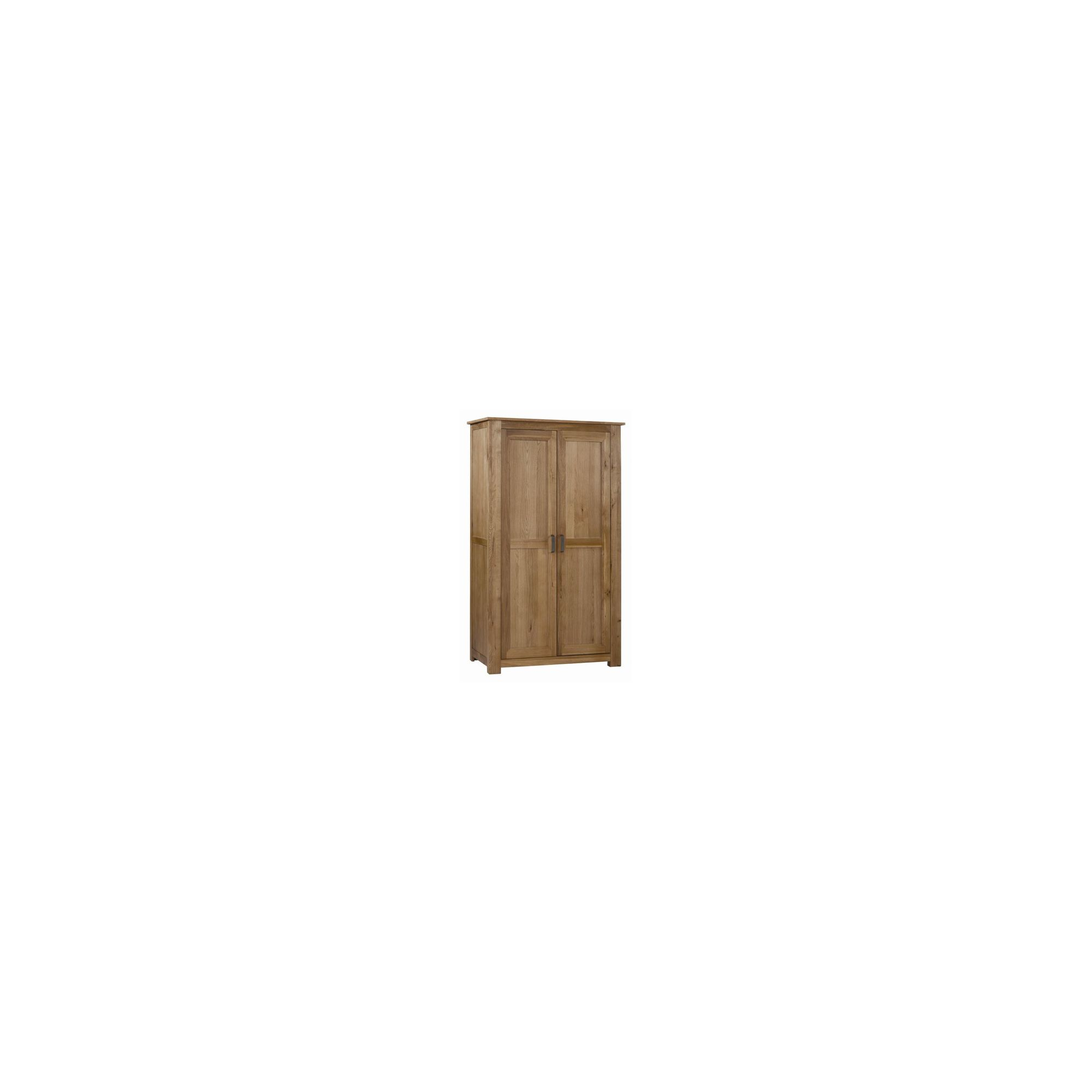 Kelburn Furniture Lyon Ladies Wardrobe in Light Oak Matt Lacquer at Tesco Direct