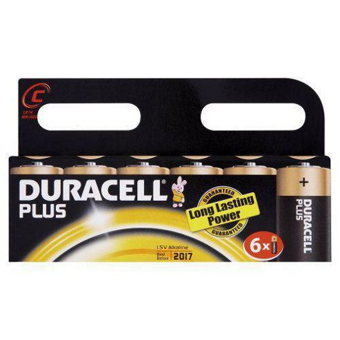 Duracell S3519 C Cell Alkaline Batteries