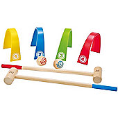 HAPE Colour Croquet Playset - Outdoor and Sports