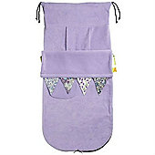 Buggy Snuggle Textured Buggysnuggles (Liberty Bunting Lavender)
