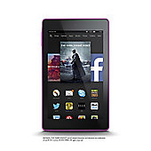 "Fire HD 6, 6"" Tablet, 16GB, WiFi - Pink (2014)"
