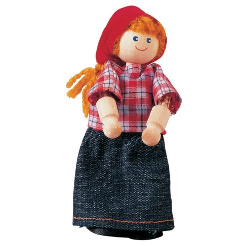 Plan Toys Plan Toys Dollhouse Farmer's Wife Doll ,wooden toy
