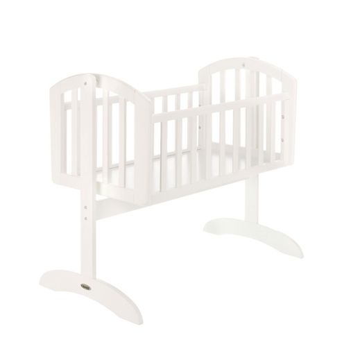 Obaby Sophie Swinging Crib & Mattress - White