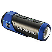 iON Audio Air Pro Plus Full HD Camcorder, Black/Blue, 5MP, Waterproof