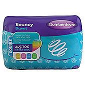 Slumberdown Bouncy 4.5 Tog Duvet, Double
