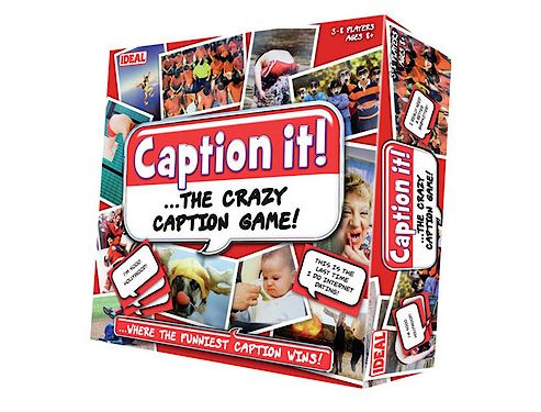 Caption It Card Game